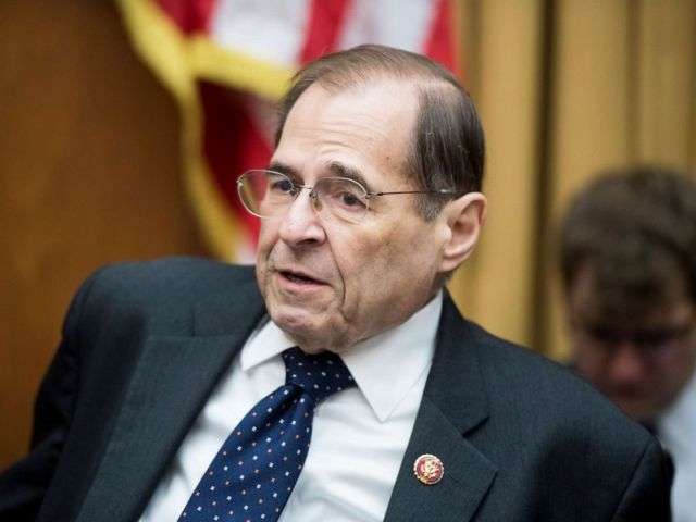 PHOTO: Chairman Rep. Jerry Nadler arrives for a House Judiciary Constitution, Civil Rights and Civil Liberties Subcommittee hearing in Washington, April 30, 2019.