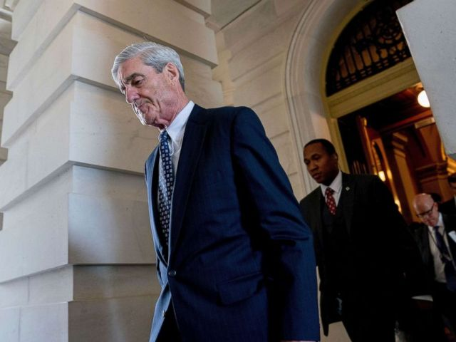 PHOTO: Former FBI Director Robert Mueller, the special counsel probing Russian interference in the 2016 election, departs Capitol Hill following a closed door meeting in Washington, June 21, 2017.