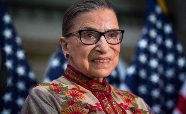 Justice Ruth Bader Ginsburg Out Of Hospital Doing Well