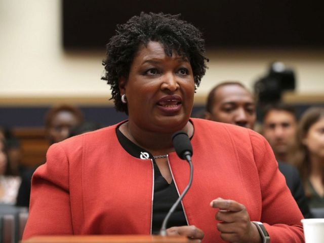 PHOTO: Stacey Abrams testifies during a hearing before the Constitution, Civil Rights and Civil Liberties Subcommittee of House Judiciary Committee June 25, 2019, on Capitol Hill in Washington, D.C.