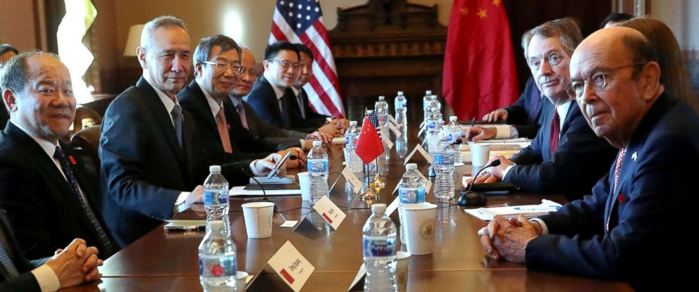 Trump optimistic about high-stakes trade talks between US and China - ABC News