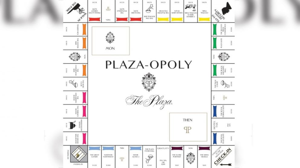 New 'Plaza-opoly' Board Game Inspired by Iconic Hotel