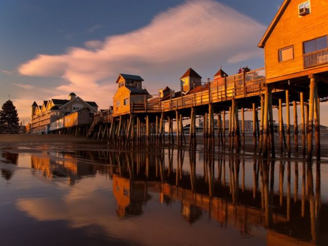 PHOTO: Old Orchard Beach, Maine.