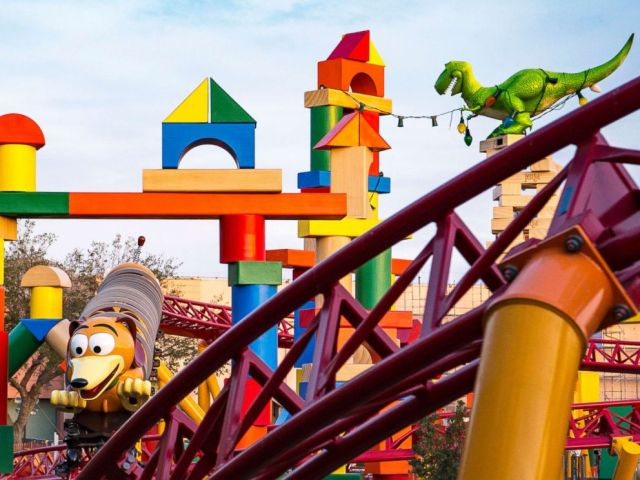 PHOTO: Slinky Dig Dash is the new roller coaster at Toy Story Land at Walt Disney World.