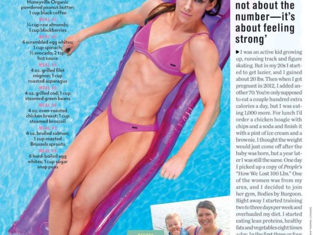 PHOTO: Brianna Bernard, 32, shares how she lost 107 pounds without any surgery in an interview with People magazine.