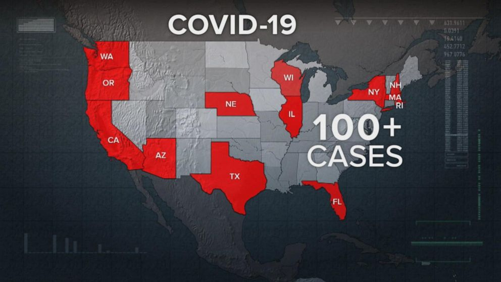 COVID-19 death toll rising in the US, 6 dead Video - ABC News