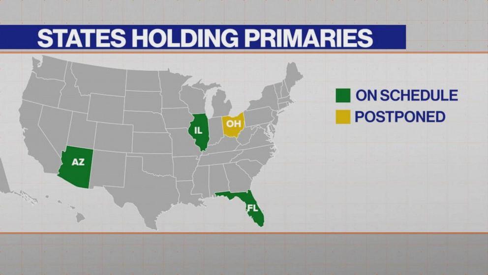 DeWine indicates Ohio will postpone primary voting amid covid-19 ...