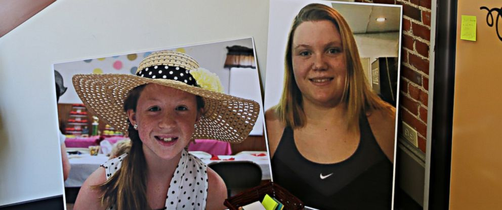 Photo Photos Of Abby Williams Left And Libby German Right At