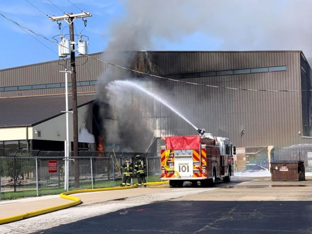 PHOTO: Authorities responded to a deadly plane crash and subsequent fire in Addison, Texas, on Sunday, June 30, 2019.