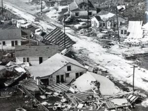 Diaporama: les pires ouragans de l'histoire américaine