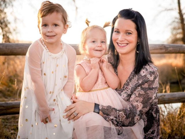 PHOTO: Shanann Watts, 34, and her daughters Celeste, 3 and Bella, 4.