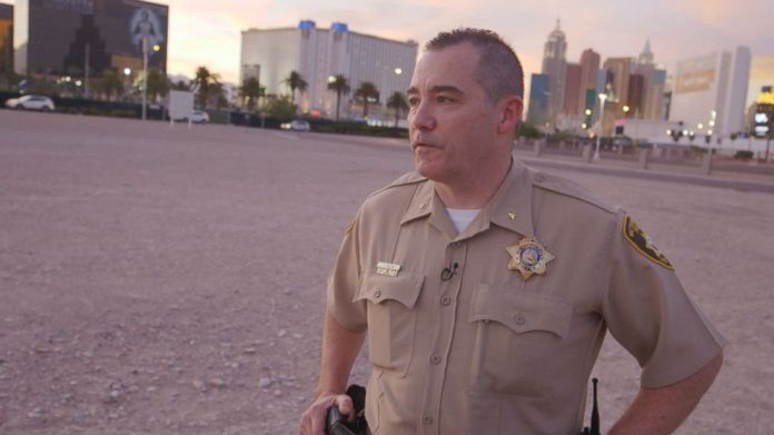 Deputy Chief Andrew Walsh of the Las Vegas Metropolitan Police Department told Nightline that Paddock was just one man in a sea of thousands of hotel guests.