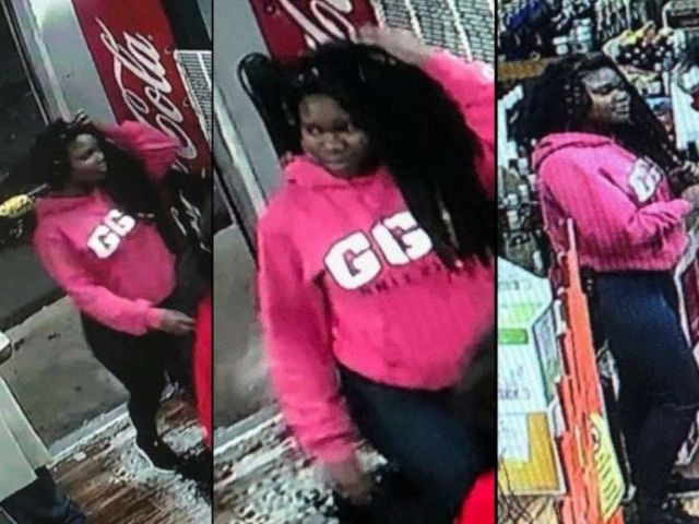 Investigators released several photos of Alexis Crawford, showing her inside a business in Southwest Atlanta prior to her disappearance.