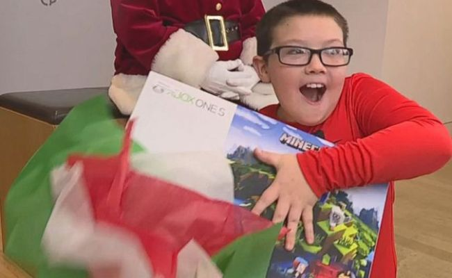 Ohio Boy Who Gave Up Xbox To Donate Blankets To Homeless