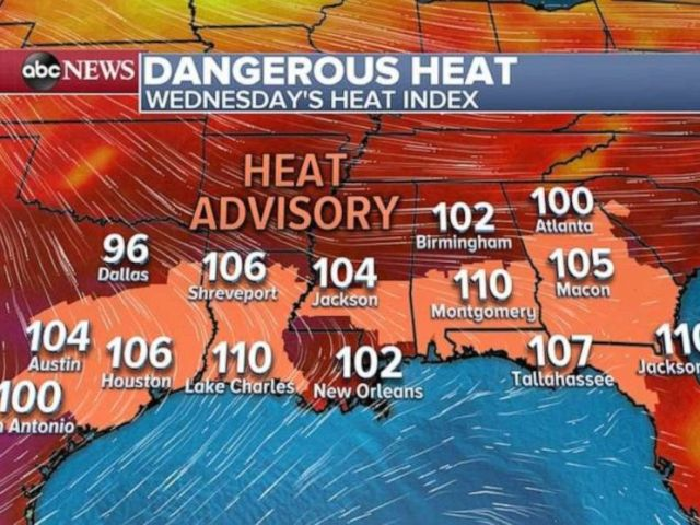 PHOTO: A heat advisory is in store over much of the U.S.