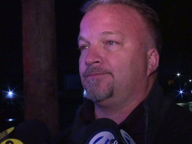 PHOTO: Le lieutenant Brian Bowser, du service de police de Detroit, a informé les médias de la découverte de 11 corps de nourrissons trouvés dans un salon funéraire à volets à Detroit le vendredi 12 octobre 2018.