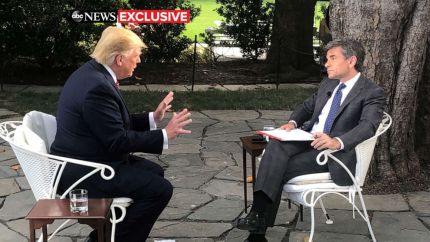 Image result for Transcript: ABC News' George Stephanopoulos' exclusive interview with President Trump