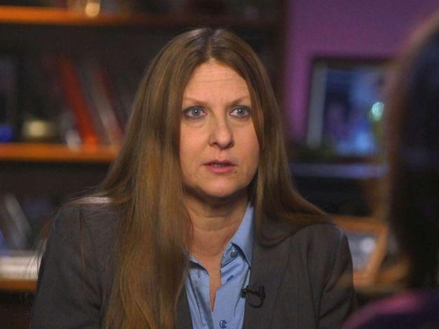 PHOTO: Doreen Giuliano speaks with ABC News.