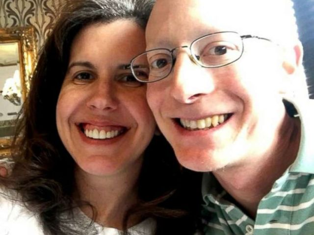 PHOTO: Evan Freiberg, a rare cancer survivor, is photographed here with his wife, Felicia Freiberg