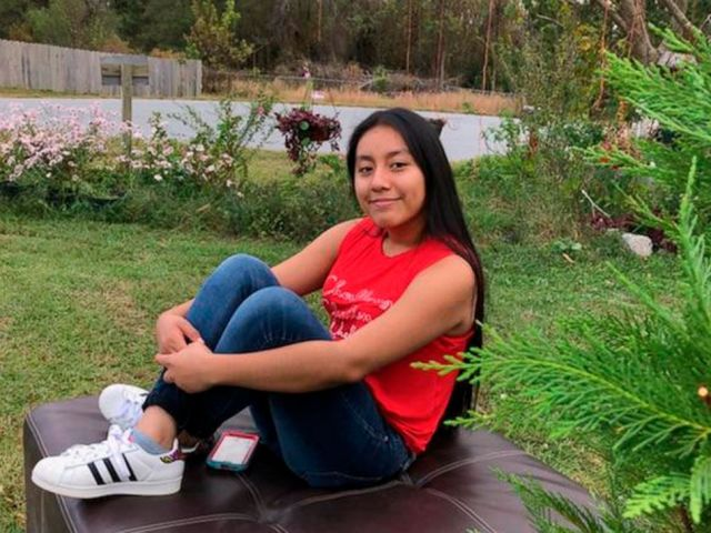 PHOTO: This Nov. 4, 2018, photo provided by FBI shows Hania Noelia Aguilar, the day before she went missing in Lumberton, N.C.