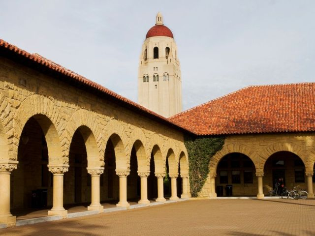 PHOTO: The Hoover Tower is pictured on the Stanford University campus in Stanford Calif.