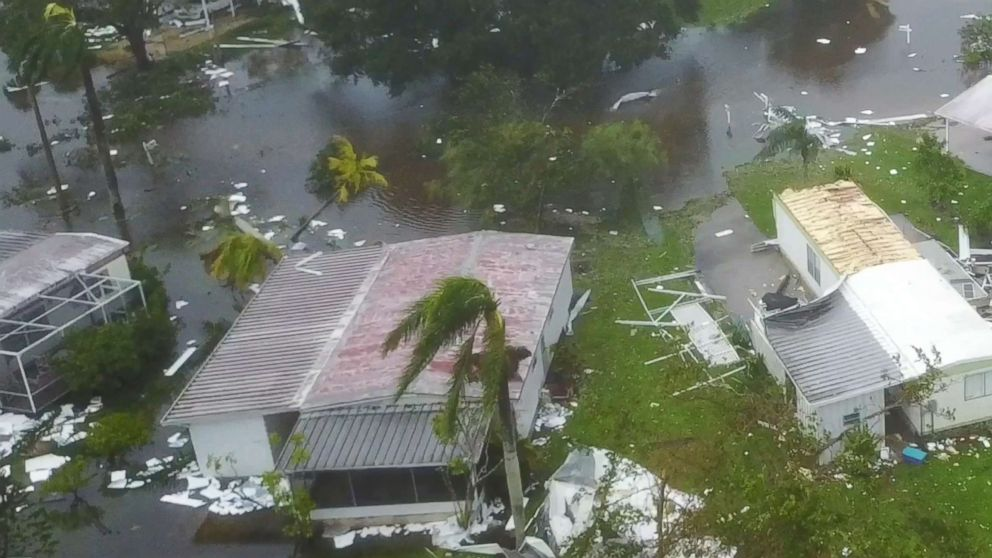 Hurricane Irma caused sizable damage in Naples, drone footage ...
