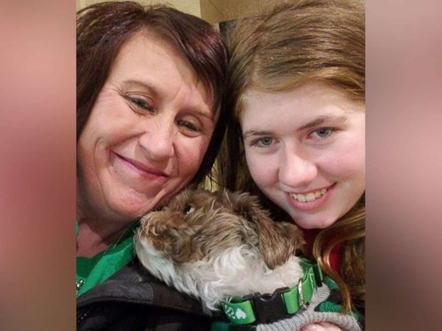 PHOTO: Jayme Closs, 13, is pictured in a photo shared on social media after reuniting with her aunt and godmother, Jennifer Smith, Jan. 11, 2019.