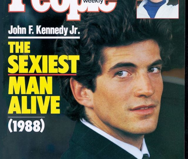 Photo John F Kennedy Jr Was Named People Magazines Sexiest Man Alive On