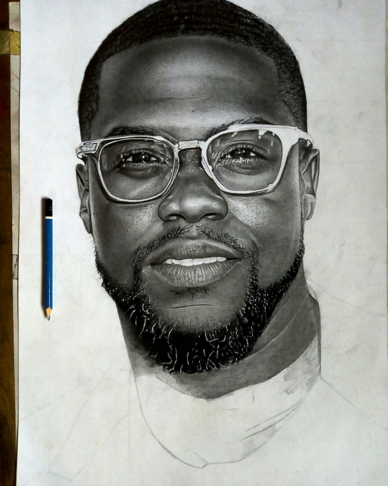 kevin hart sketch by