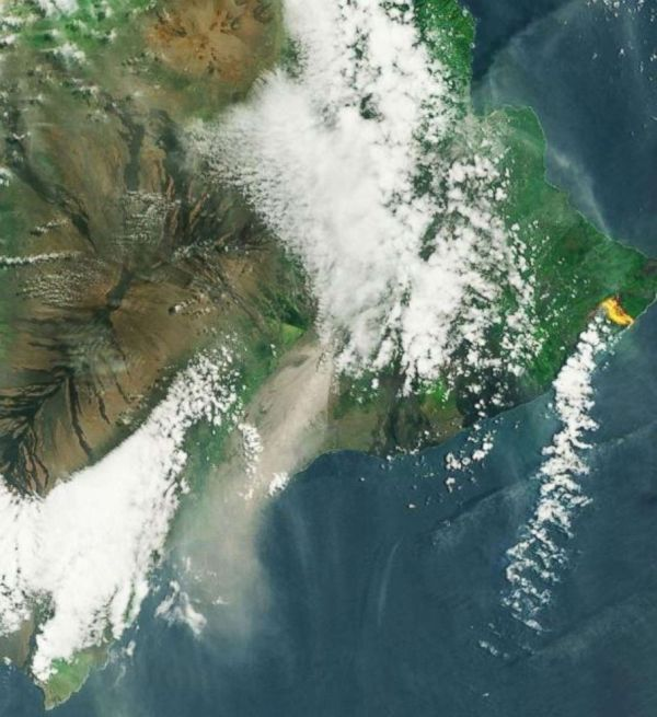 Lava In Hawaii Widespread Space - Abc