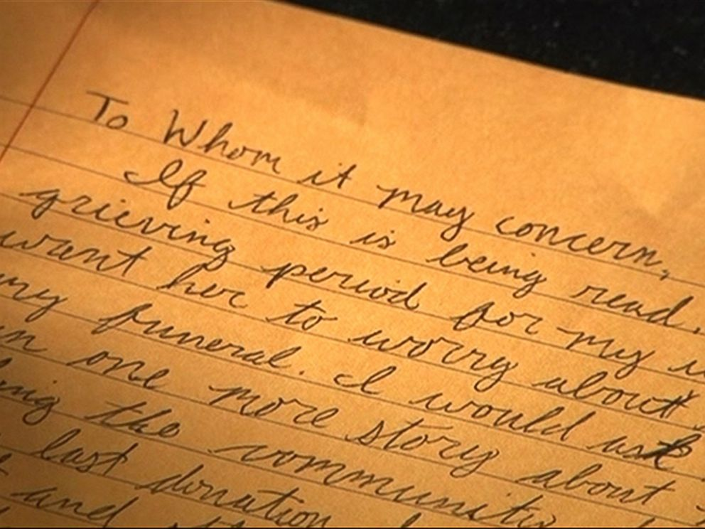 Wife Discovers Trove of Letters From Husband After His Death - ABC News