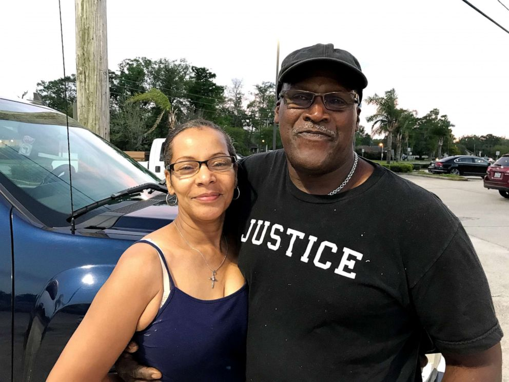 Malcolm Alexander, who is seen here with his wife Brenda, said that it was something he wanted to do now that he was obsolete, but his finances were a matter of concern.