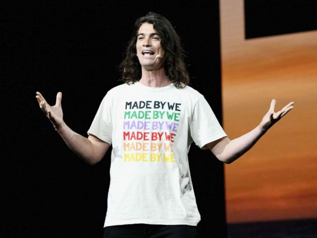 PHOTO: Adam Neumann speaks onstage during WeWork Presents Second Annual Creator Global Finals at Microsoft Theater on January 9, 2019 in Los Angeles, California.