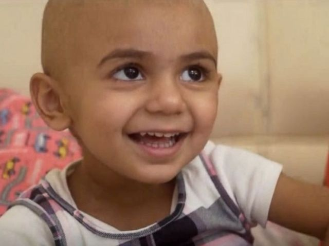 PHOTO: Zainab Mughal, 2, is missing a common Indian-B antigen, meaning she'll need a rare donor who is also missing that antigen.