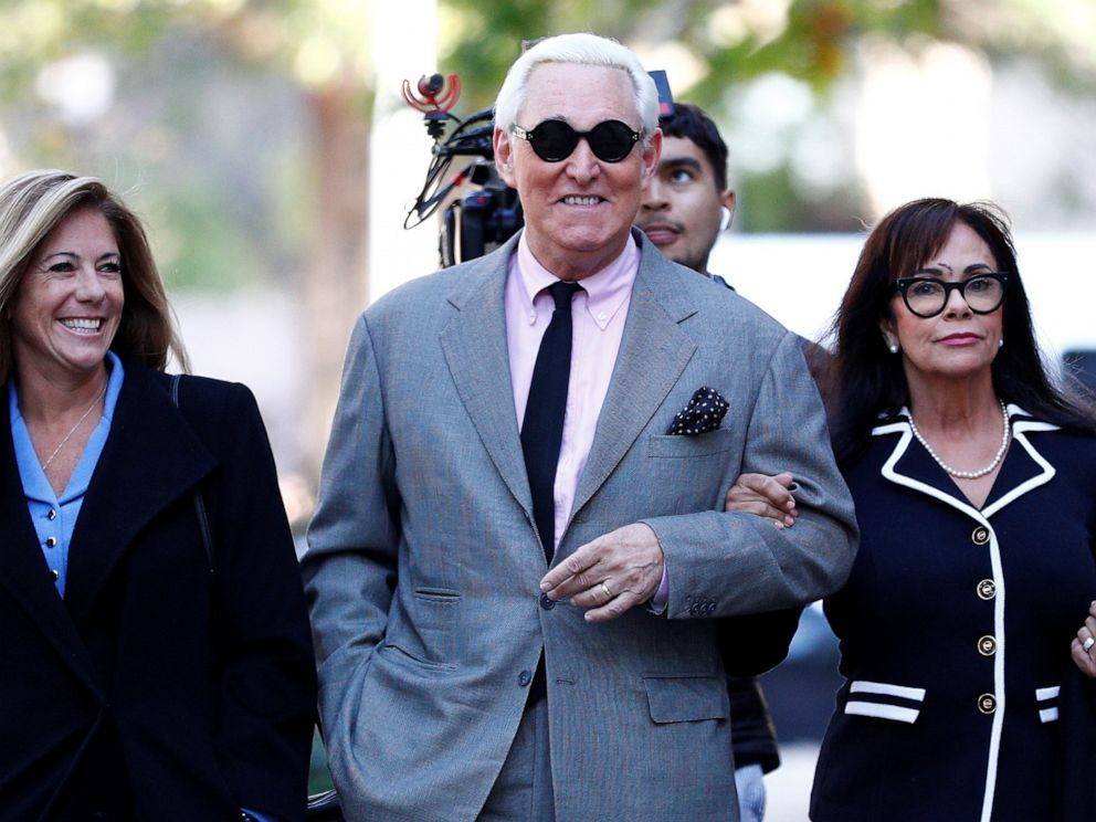 Trial of former Trump campaign adviser Roger Stone off to a strange start - ABC News