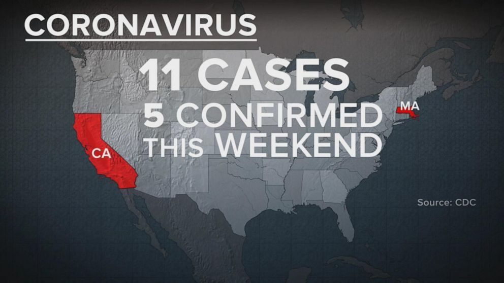 11 cases of coronavirus confirmed in the US Video - ABC News