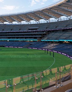 The dockers and eagles are taking fans on  virtual tour of new perth stadium also take look at afl rh