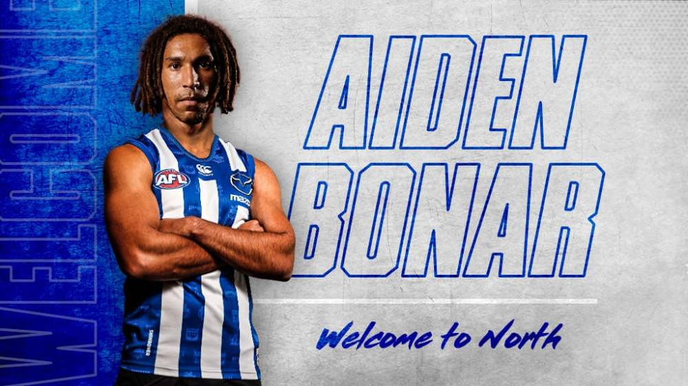 Image result for north melbourne aiden bonar