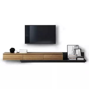 meuble tv au design moderne armoire simple en bois support table pour salon nouveau modele 2019