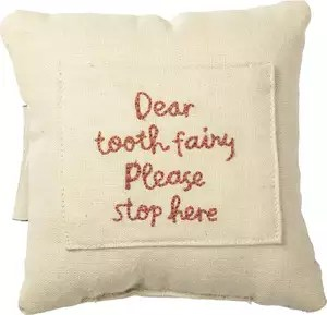 cute and safe tooth fairy pillow
