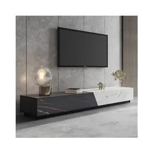 combinaison de table a the et de meuble tv 1 8m nouveau modele vente en gros usine italienne minimaliste importee