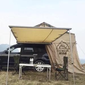 auvent retractable de voiture 4x4 suv auvent lateral pour la peche et le camping