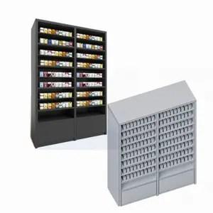 customized metal convenience store cigarette racks display
