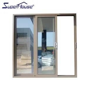 suave casa deposito de puertas corredizas de vidrio