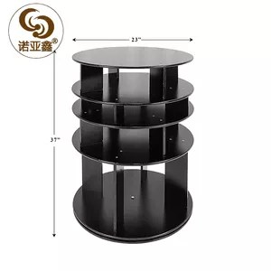 home furniture new design wooden round shoe rack round shoe cabinet