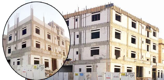 مخالفات البناء إزالة ودفع غرامات