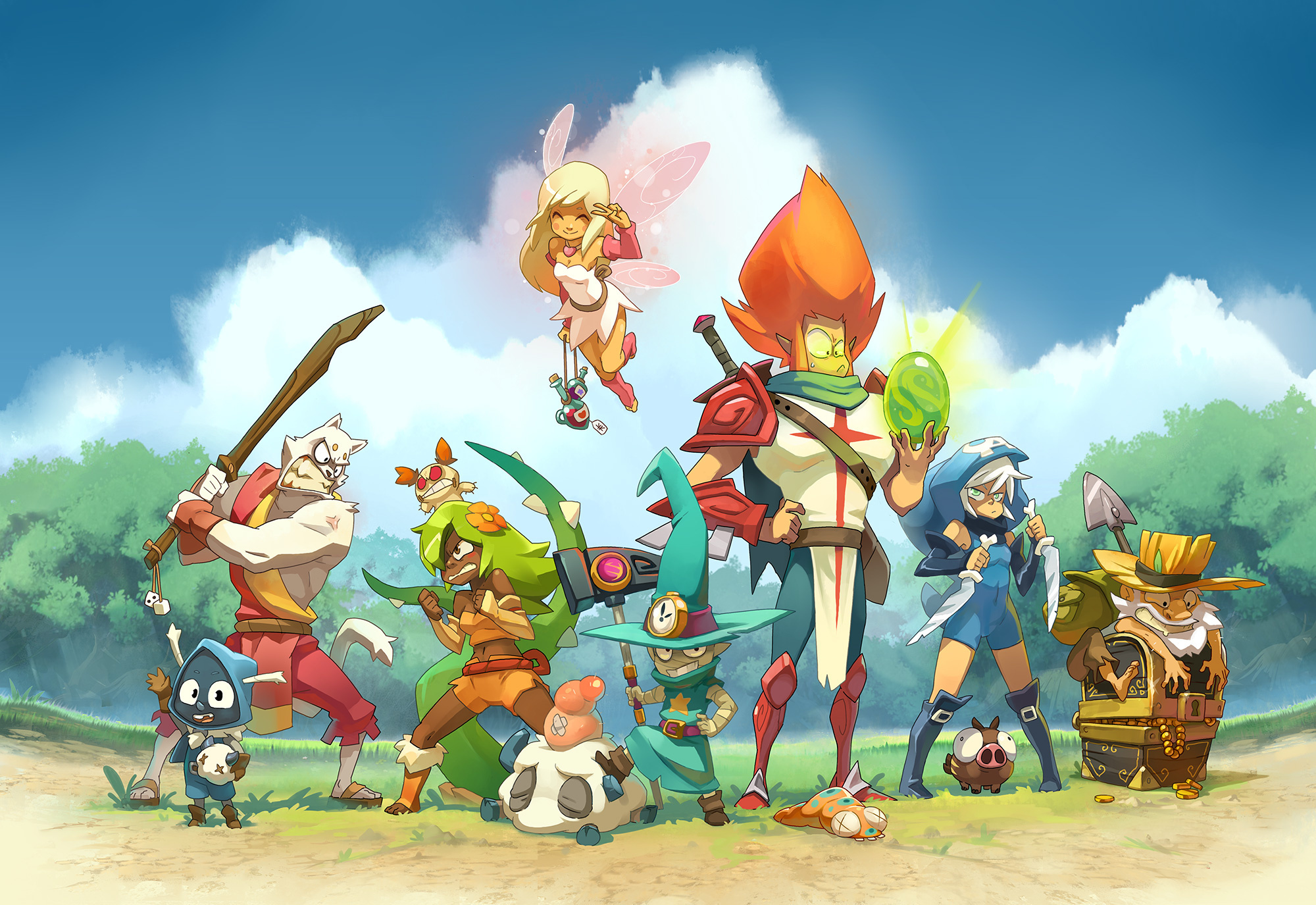 Anime Wallpaper Steam Official Illustration Wallpapers Dofus Touch A