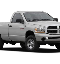 2007 dodge ram 2500 slt trx4 off road sport power wagon 4x4 regular cab 140 5 in wb specs and prices [ 2100 x 1386 Pixel ]