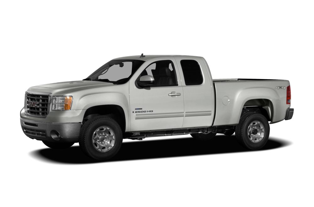 medium resolution of 2008 gmc sierra 2500hd slt 4x4 extended cab 8 ft box 157 5 in wb specs and prices