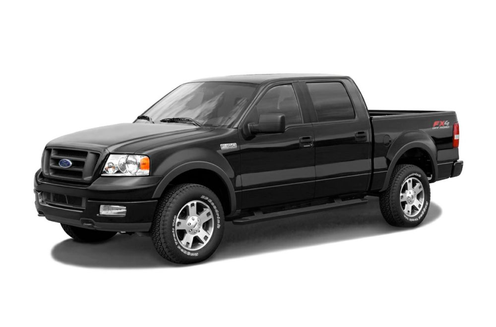 medium resolution of 2005 ford f 150 supercrew lariat 4x4 styleside 5 5 ft box 139 in wb specs and prices